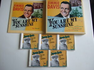 JIMMIE-DAVIS-You-are-my-sunshine-Box-5-CDs-Booklet-Bear-Family-BCD-16216-EI-m
