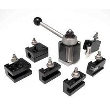 Aloris 2 Set 7 Pc Bxa Quick Change Lathe Tool Set Tool Post Amp Holders Cnc Usa