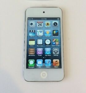 Apple Ipod Touch 4th Generation White 16 Gb Good Condition Ebay