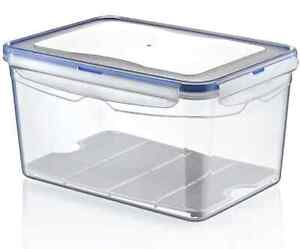 Beau Image Is Loading 9 Litre Large Air Tight Containers Boxes Clear