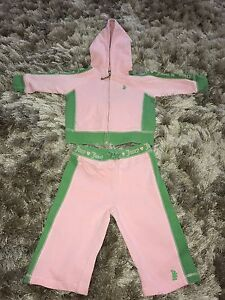 99c555abd9 Details about juicy couture baby girls tracksuit 3-6 months