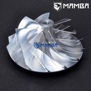 55.17//70 mm Billet Turbo Compressor Wheel Garrett T04B 409179-0025 Trim 62 6+6