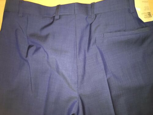 M/&S Savile Row Inspired /'REDA/' Tailored Fit Pure Wool Flat Front Trousers  £119