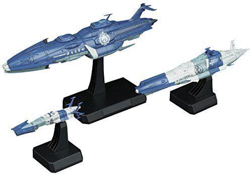 """Bandai Hobby Space Battleship Yamato Yunagi Combined Cosmo Fleet """"Star Blazers 2"""