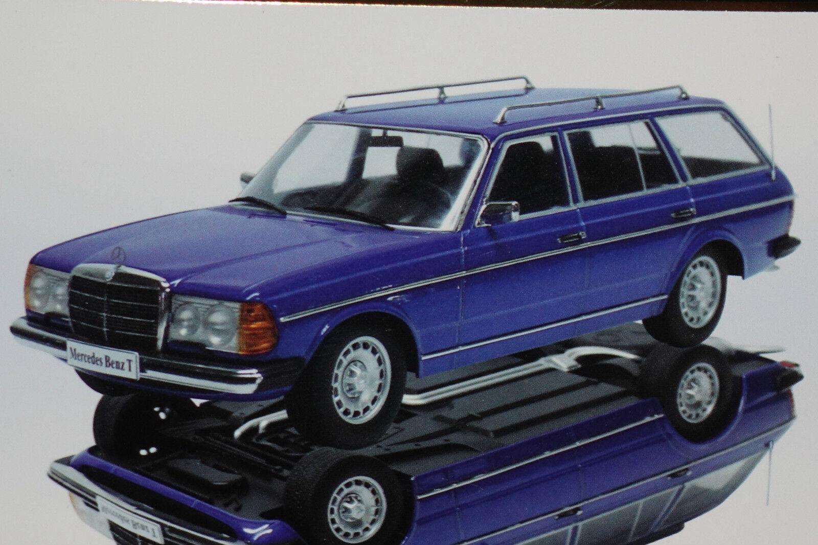 MERCEDES 250 t s123 bleu 1980 1 18 KK-scale NOUVEAU & OVP 180091