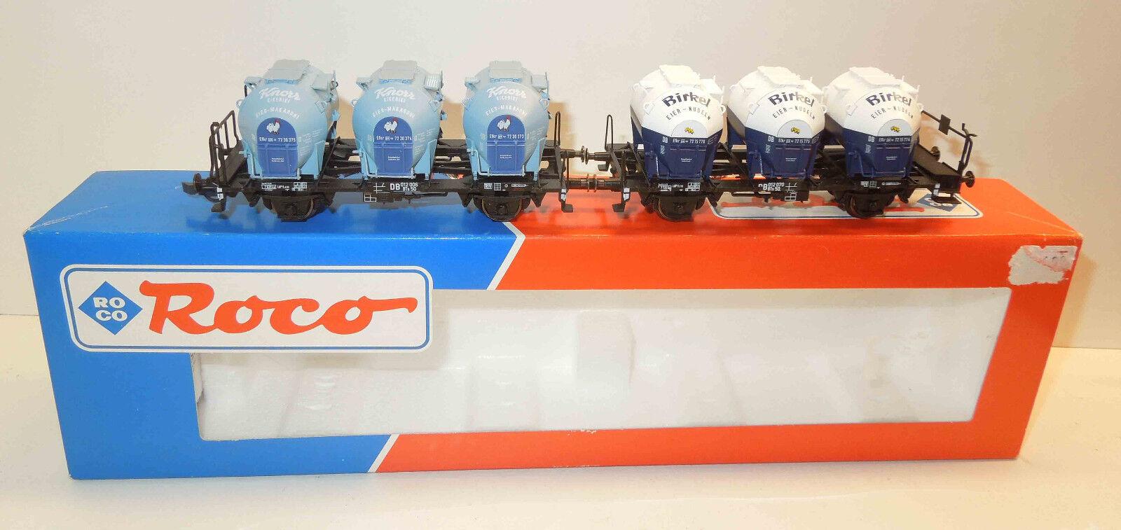 ROCO h0 46521 contenitore portante Wagenset 2 pezzi