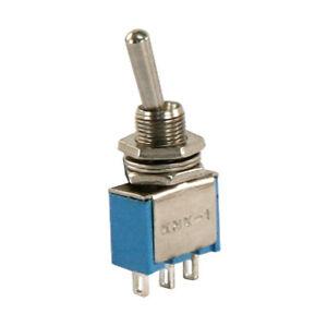 5-x-Miniatur-Kippschalter-1-polig-3-Kontakte-Umschalter-Ein-Ein-Loetoesen-4295