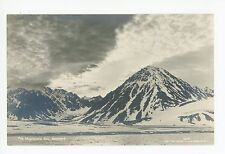 Magdalene Bay RPPC Savalbard Antique Brevkort Foto Photo Glaciers 1910s