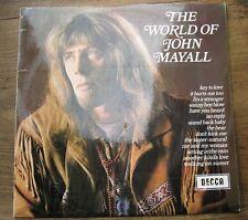 JOHN MAYALL - The World Of John Mayall - VG+ UK LP stereo peephole SPA47 DECCA