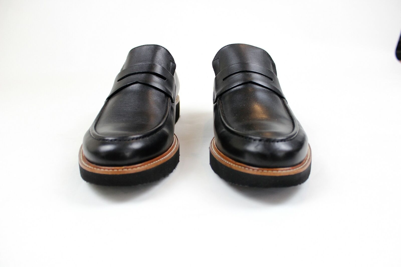BRAND NEW -Samuel Hubbard Ivy Legend- Black Leather -10 M- MSRP