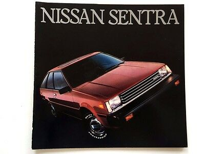 1983 Nissan Datsun Truck and King Cab 24-page Car Sales Brochure Catalog