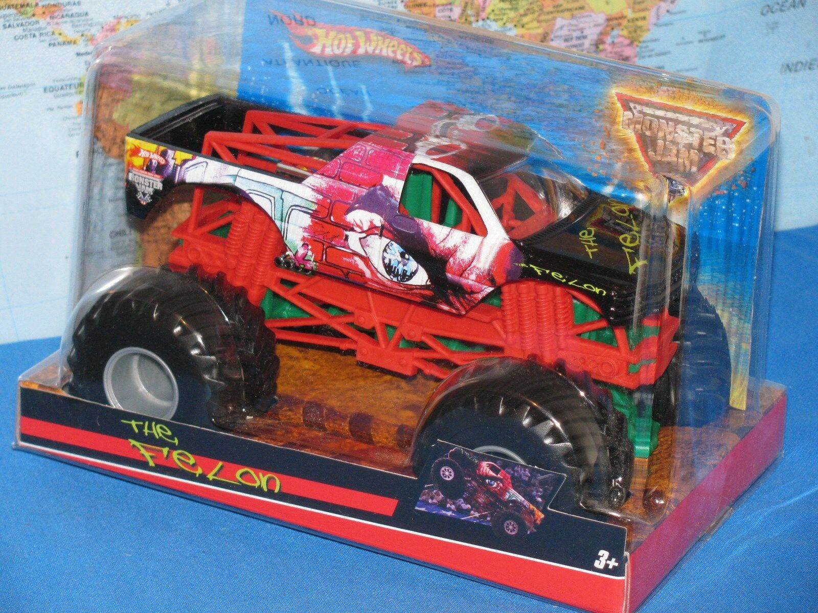 1 1 1 24 Hot Wheels Mermelada de Monstruo Camión la Criminal Metal Fundido Advance 2f86f2