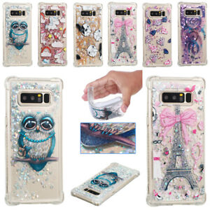 Cute-Bling-Glitter-Liquid-Quicksand-Soft-TPU-Case-For-Samsung-S9-5-6-7-8-Note8