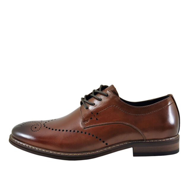 Stacy Adams Alaire Cognac Men's Wingtip Brogue Oxford 25128-221