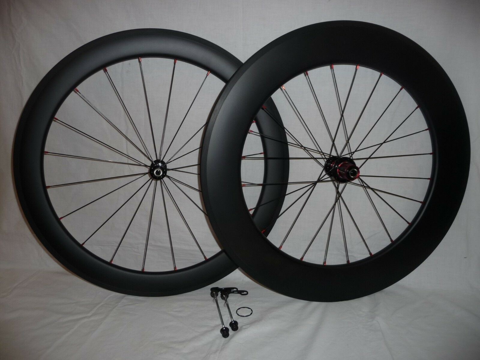 Carbonal 60mm 88mm deep, TT speed carbon clincher wheels