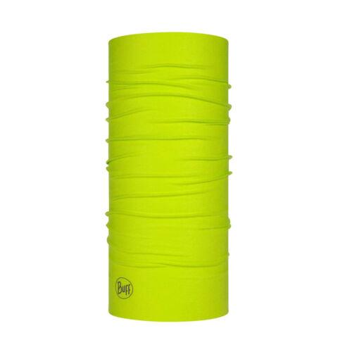 Buff Unisexe Extérieur De Protection Neckwear Bandana Tube écharpe-Solide pompe Lime