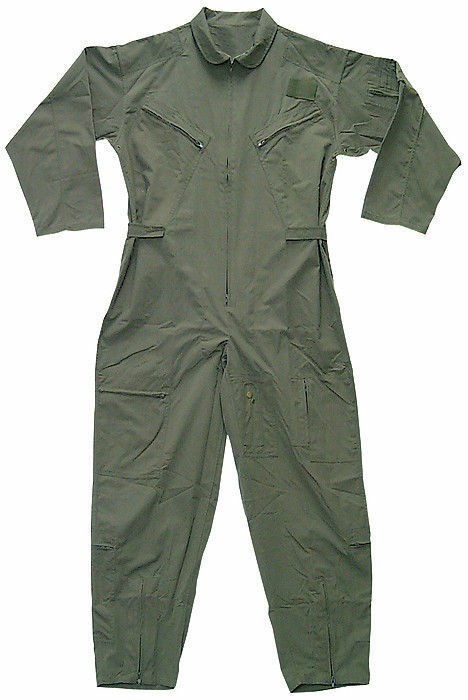 OD Camouflauge Military Flight Suit Air Force Style Flight Coveralls Choose Größe