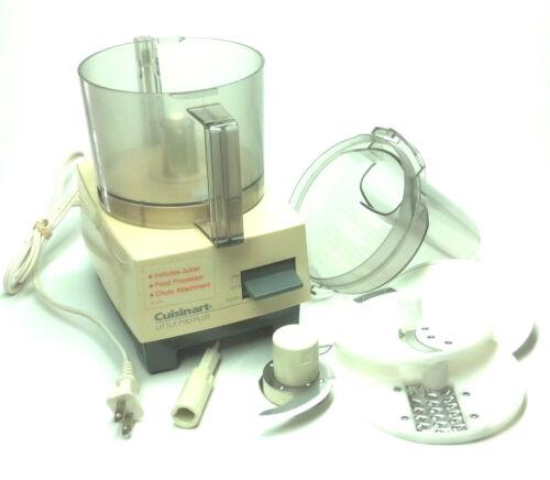 Cuisinart REPLACEMENT PARTS for Little Pro Plus Food Processor//Juicer Vintage