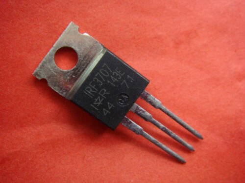 50pcs N-MOS IRF3707 IRF 3707 Transistor TO-220AB NEW A160