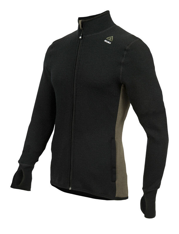 Aclima hotwool Jacket señores merino ropa interior jet  negro-Olive Night  muchas concesiones