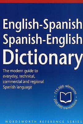 """AS NEW"" , The Wordsworth English-Spanish/Spanish-English Dictionary (Wordsworth"