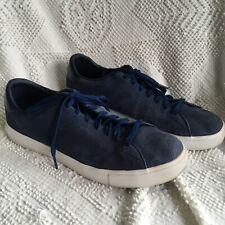 best authentic e5a35 549b4 Adidas NEO Label sz 12 Ortholite Suede Sneakers Shoes Navy Blue Originals  F98415