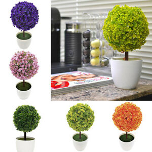 Ball-Topiary-Artificial-Tree-Home-Office-Table-Decors-Plants-Pot-Ornament-Potted