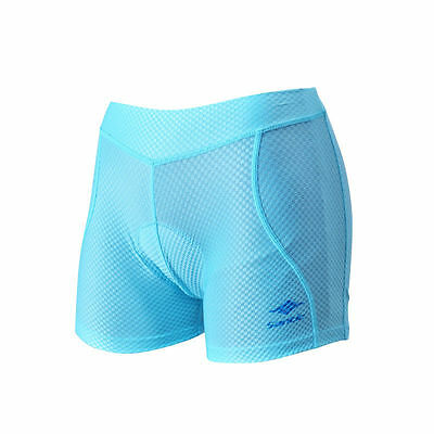 Santic Women Bike shorts Lady Hipster Underwear with 3D Padded Blue