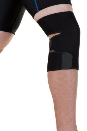 EyezOff Neoprene Knee Support Strap with Velcro Closing, One Size, Black