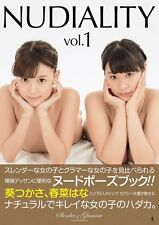 """""""NUDIALITY vol.1"""" - slender & glamour nude pose book - large book - 2015/8/25 Co"""