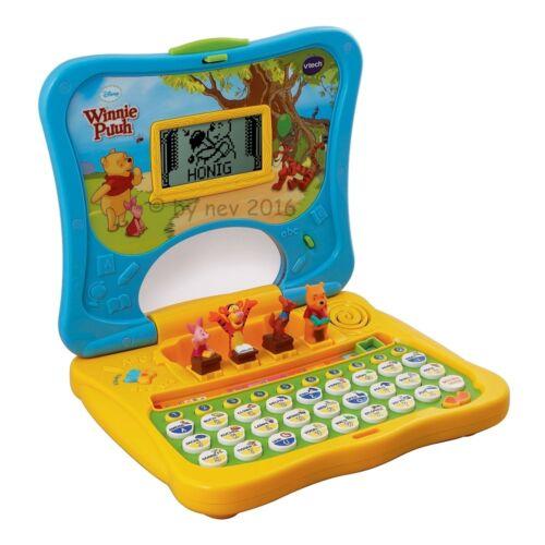 VTECH WINNIE POOH ABC LAPTOP Lerncomputer Computer Rechner ab 4 Jahren NEUWARE