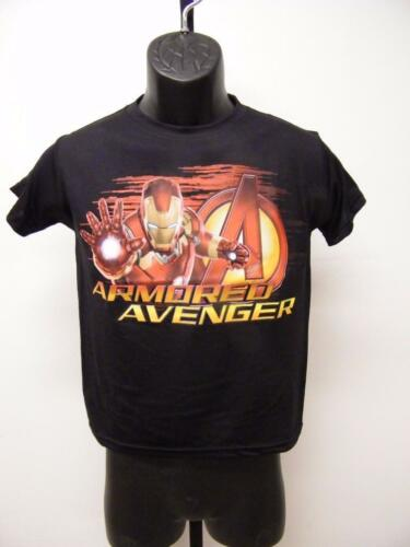NEW Marvel Ironman Armored Avengers Youth Sizes XS-S-M-L-XL Shirt