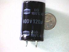 Elko Capacitor Kondensator 120uF 400V 105° Snap-In TEAPO LG