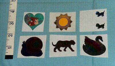 Half Strip of Vintage Roses Stickers LONG STEM Hambly Studios ROSES