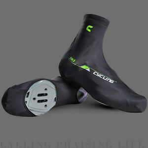 Cozy Windproof Zipped Bike Cycling Shoe Covers Outdoor Light Overshoes Sportwear