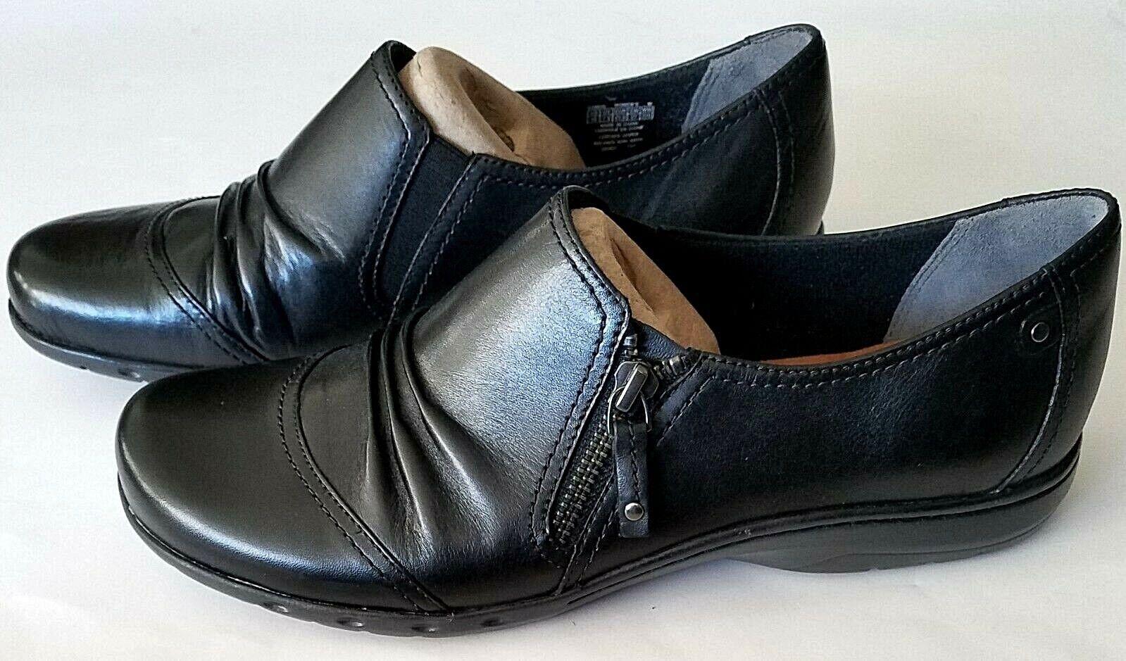 grande sconto Donna  Rockport Cobb Hill Penfield Zip nero nero nero Leather scarpe Dimensione 10  a buon mercato