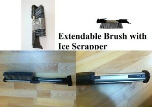 Extendable-Brush-with-Ice-Scraper-EX-Chainstore-Branded-Brush-Cleaning-Brush-New