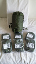 UK BRITISH ARMY SURPLUS ISSUE JUNGLE WARM WEATHER SLEEPING BAG COMPRESSION SACK,