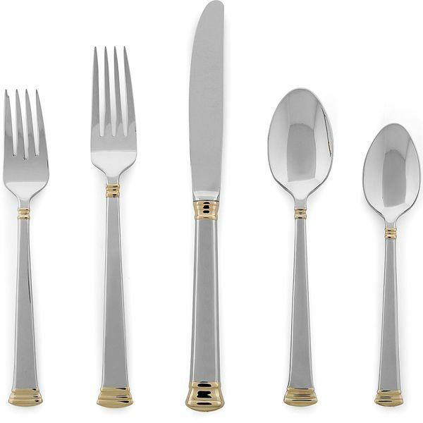 Eternal or 5-piece Flatware Place Setting by Lenox - Set of 4