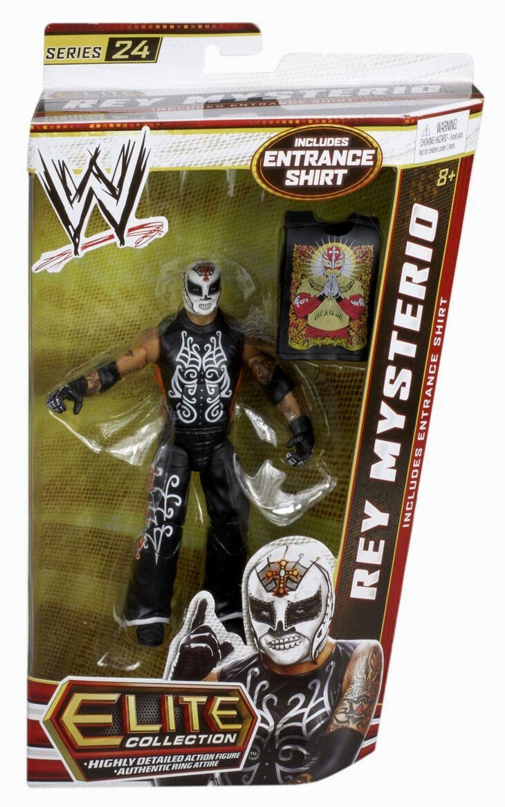 WWE ELITE Collection Series   24__REY MYSTERIO 6 inch action figure_Unopened_New