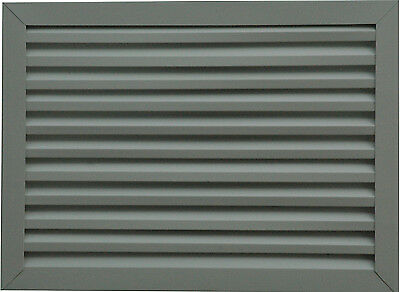 "14/"" w x 20/"" h Aluminum Rectangle Gable Vent Attic Louver Many Colors"