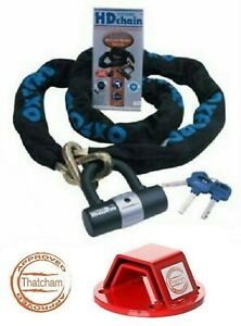 OXFORD-HD-SOLD-SECURE-MOTORCYCLE-BIKE-CHAIN-LOCK-2M-AND-MAMMOTH-GROUND-ANCHOR