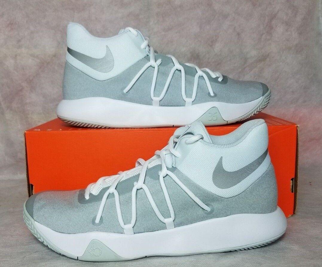 Nike KD Trey 5 V Men Size 10.5 10.5 10.5 White Silver Platinum Basketball shoes 897638 100 b09151