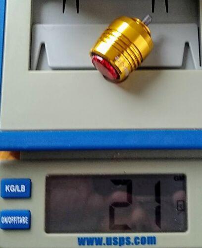 1 Aluma-lites Lampe de sécurité Direct M5 Filetés Surly Soma USB Arrière Feu Arrière Neuf
