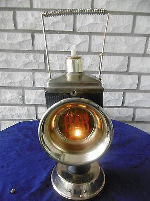 1970-1979 bar,orig.royal Grafe Colection Lampen & Leuchten KöStlich Alte Beleuchtete Schnapsflasche