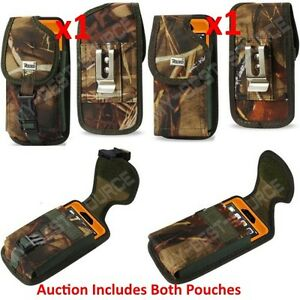 X2-Holster-Pouch-TO-fit-Heavy-Duty-Cases-FOR-ALL-Large-Smart-Phone-w-Belt-Clip