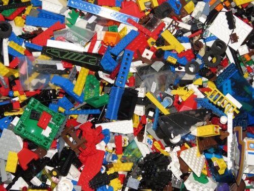 Sonderteile, Stein 1 kg  LEGO ca.700 Teile LEGO Kiloware Platten Räder