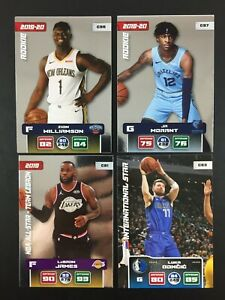 Zion Williamson Ja Morant Rookie 4 Card NBA Panini 2019 2020 (20) Adrenalyn XL