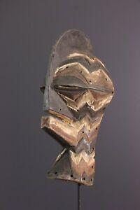 MASQUE-SONGYE-AFRICAN-ART-AFRICAIN-PRIMITIF-ARTE-AFRICANA-AFRIKANISCHE-KUNST