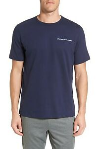 NWT-Under-Armour-Men-039-s-Charged-Cotton-T-Shirt-Blue